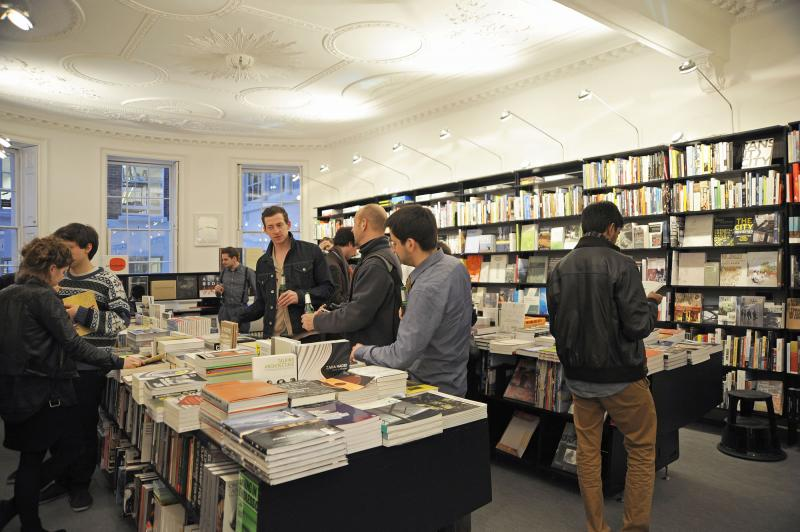 AA Bookshop opeing launch of AArchitecture VB 22 03 12 0037