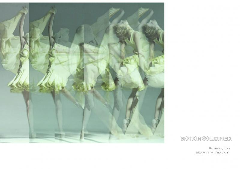 Motion Solidified – tracking the body movement of a dancer and translating the data into potential architectural geometries in real-time