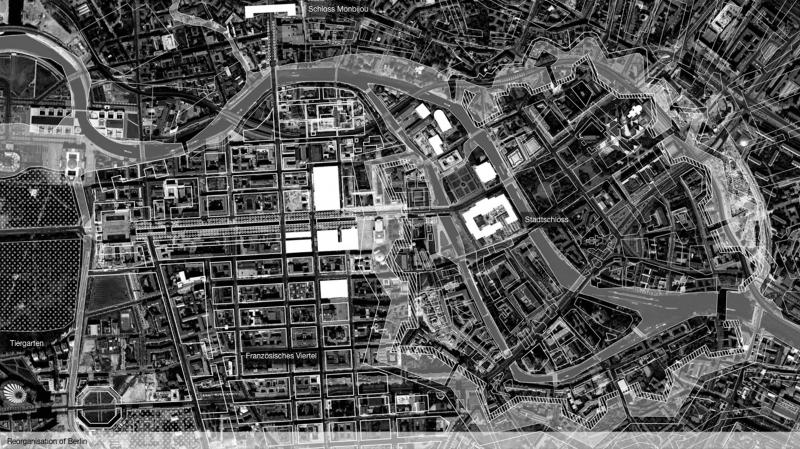 During this time, Berlin grew from 6000 to 50000 inhabitants and the sudden French influence transformed the city tremendously. A court, such as Versaille was needed, thus the Stadtschloss in Berlin constructed. Axes were drawn, districts designed and Parks inserted.