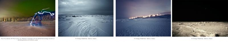 This is what this energy wilderness looks like.   The photographs were taken on a unit trip to Barrow, Alaska 2011.
