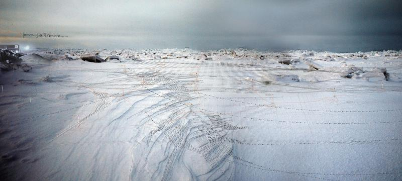 When the majority of the system lies dormant, the inuit residents of Kaktovik survey the land through observations.  (Original image courtesy of Dessi)