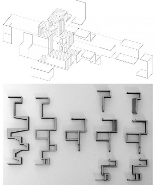 With designed relationships of overlap at every scale, the spaces themselves overlap as an interlocking set of blocks where no piece can be removed without affecting the others. Not defined by planes, the building is designed volumetrically to reinforce these interdependent relationships.