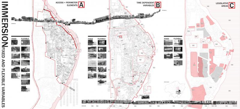 A period of site immersion aimed to analyse Wapping as a series of variable elements which could be manipulated and/or added to, in order to create a dedicated service route for DHL goods from the rivers edge, to the Highway which is a primary route into the city and central London. The proposal developed from a critique of the Olympic Route Network's disruption on logistics, which raises the question of: who is the real VIP during the games period? and should logistics and deliveries be given VIP status in the city?