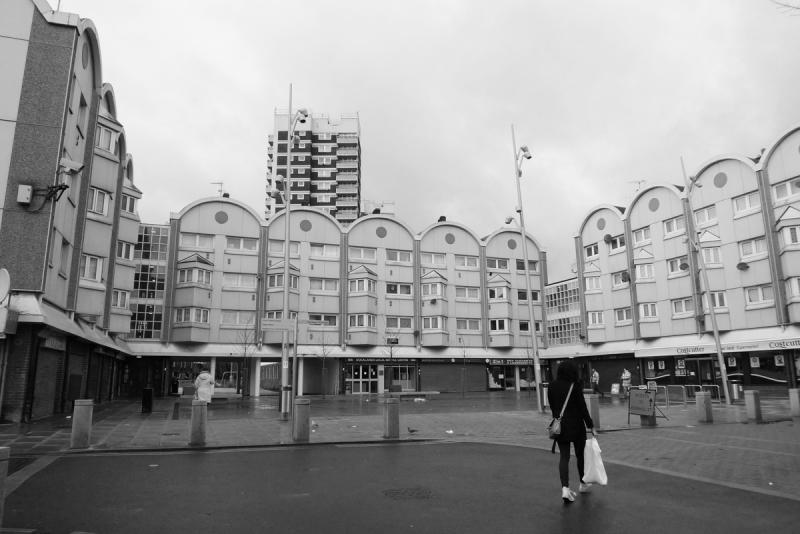 Surrounded by a mix of social housing, 'Pier Parade'