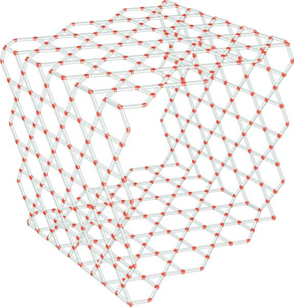 Structural hexagon box