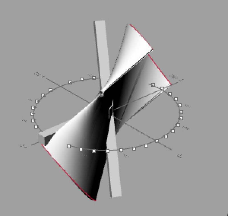 Perspective of a component movement
