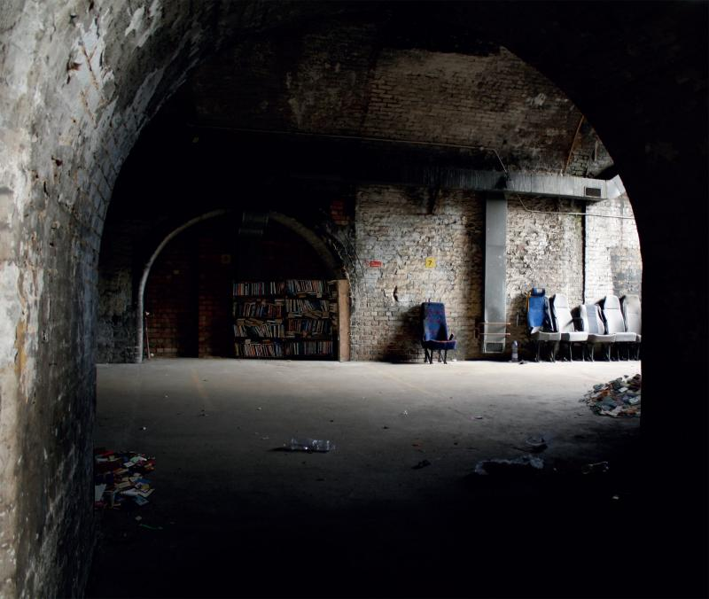 Taking the derelict spaces beneath the arches and changing them to an area where people stay and enjoy just by adding seats.