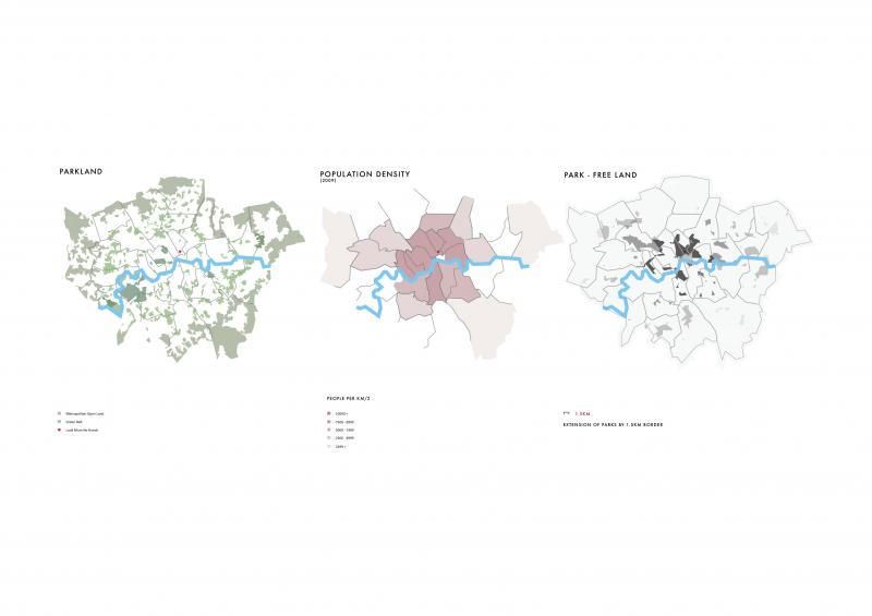 The areas of London in need of a bit of countryside.