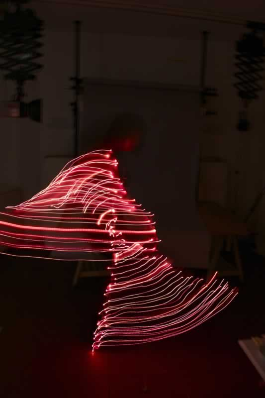 Tracing Movement with Lights
