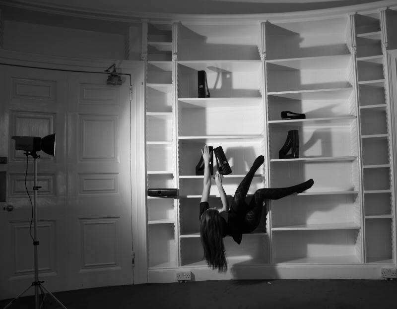 Maybe literally, I tried to portray myself in these shelves, that are known for what?  Yes, I know that here they will grow in volume and in heaviness.