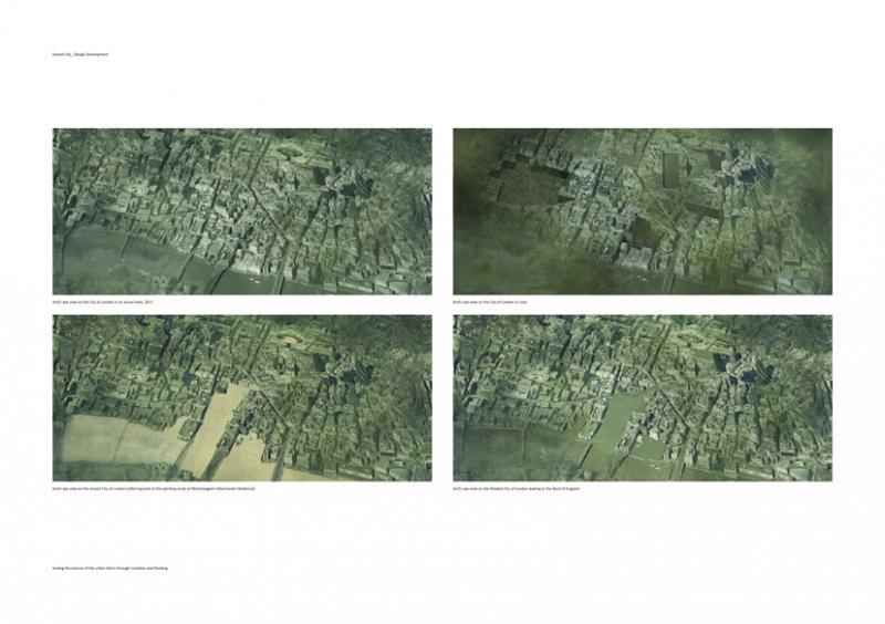 Testing the erasure of the urban fabric through ruination and flooding: