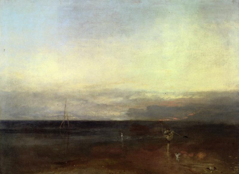 J M W Turner, The Evening Star