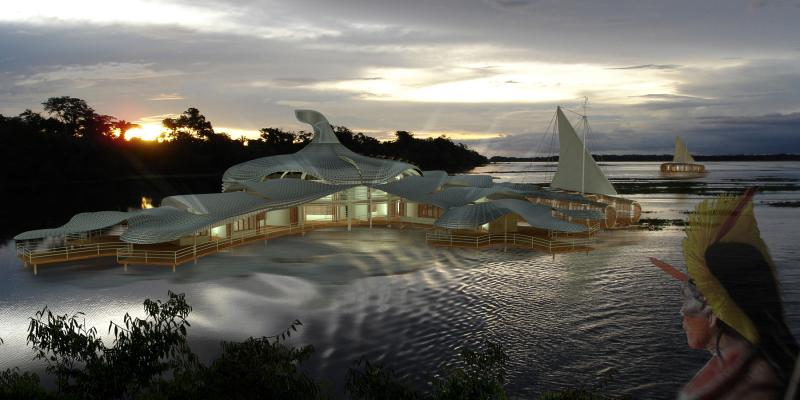 The Amazon Research Network: Sustainable Architecture for the Tropical Rainforest